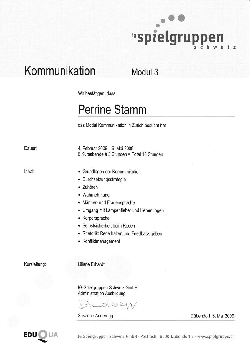 Modul 3 - Kommunikation